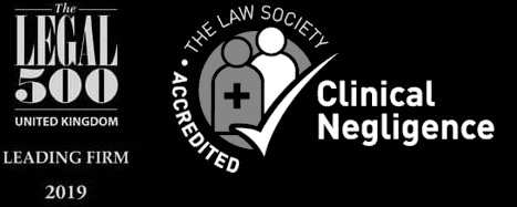 Legal 500 leading firm & Clinical Negligence Accreditations