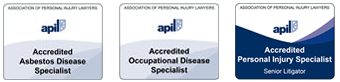 Apil accredited Asbestos Disease Specialist and an Occupational Disease Specialist
